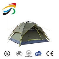 Steel Pole Double Layers Polyster Material Promotional / Outdoor /Camping 1 - 2 Person Tent pop up tent