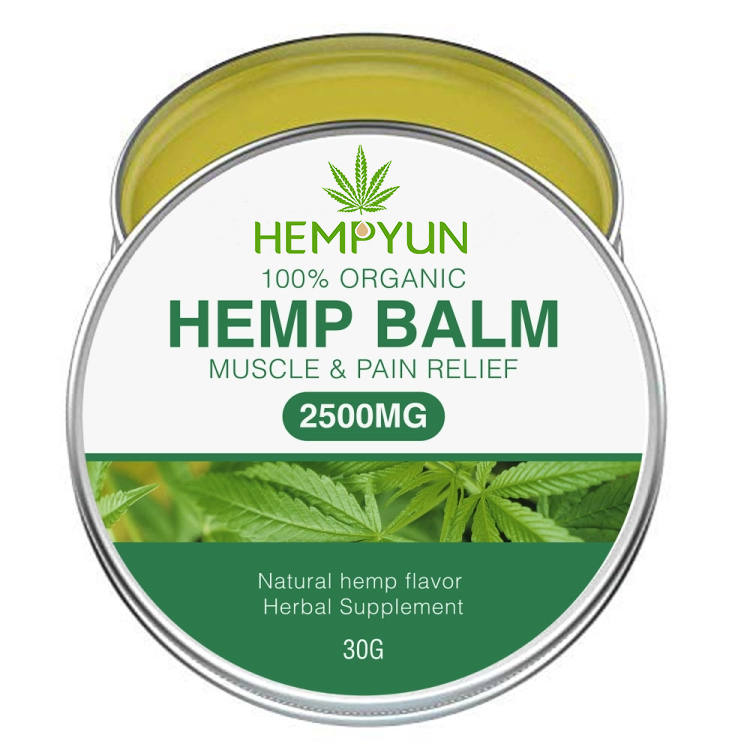 Muscle Body Hemp Balm - Ultra Strong Natural Pain Relief - 2500mg Hemp Extract фото