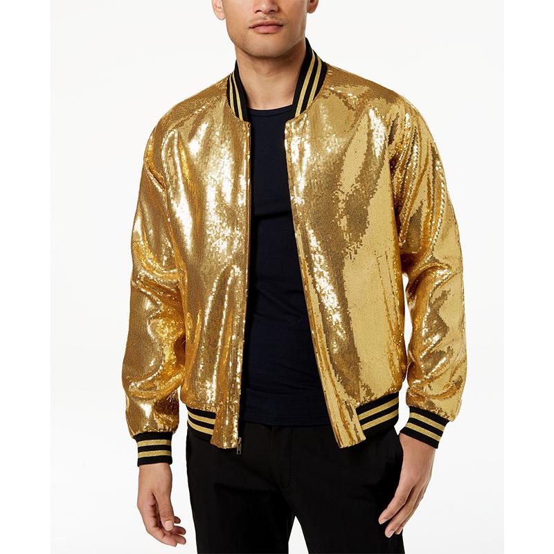 2eed8642e Mens Clothing Gold Sequin Bomber Jacket Men - Buy Bomber Jacket,Sequin  Jacket,Man Jacket Product on Alibaba.com