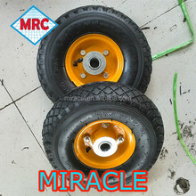 10 year insurance 3.00-4 rubber wheel with plastic hub