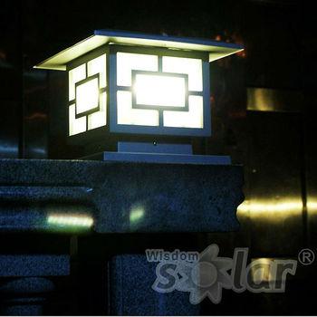 Hot Stone Garden Lamp Outdoor Led Light Pillar Main Gate Pillar Light With Bronze Color