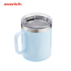 Pacific Blue Whiskey Stainless Steel Tumbler Vacuum Insulated Travel Mug - Funny Tumblers for Hot Coffee and Cold Drink