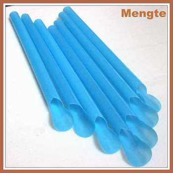 Pp large biodegradable plastic spoon drinking straw buy for How big is a plastic spoon