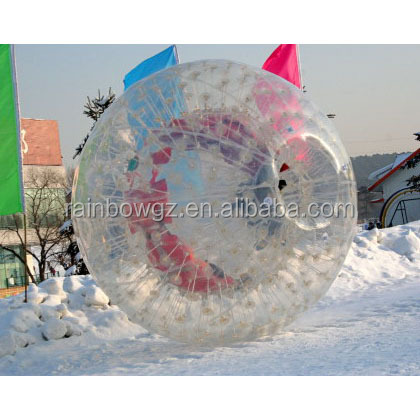 inflatable body zorbing ball for kids or adults/Outdoor human race walking rolling ball/Snow Zorb Ball For Bolwing