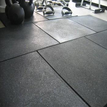 Rubber Tiles Gym Floor Mat For Fitness