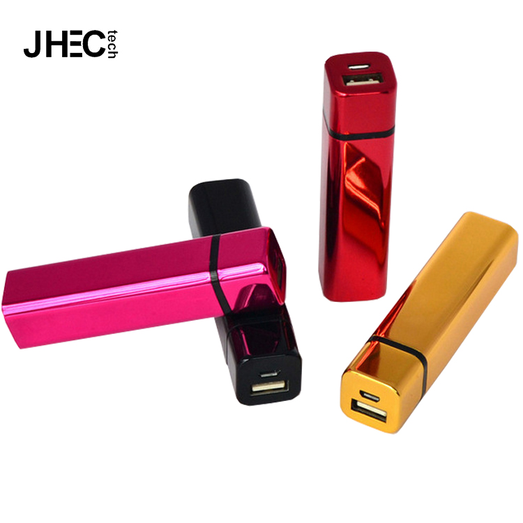 Colorful portable mini lipstick battery charger made in korea power bank for lady/girls