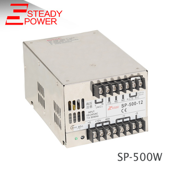 Sp-500-12 500w Led Switching 12 Volt 40 Amp Dc Regulated Power ...