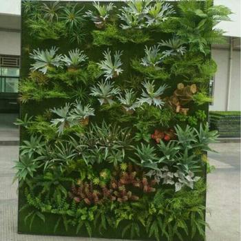 Usine Directe Vente Faux Mur Végétal Feuillage Plantes Artificielle ...