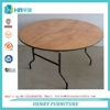 Rental furniture plywood table for wedding
