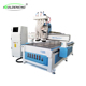 4-axis gantry woodworking cnc router engraving cutting machine