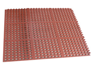 anti slip 3'x3' rubber interlocking mats /deck mat/boat mat