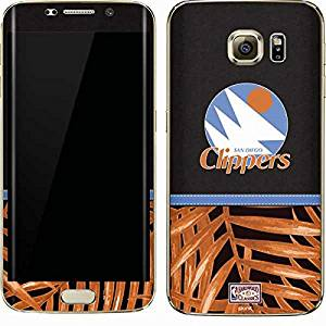 NBA Los Angeles Clippers Galaxy S7 Edge Skin - San Diego Clippers Retro Palms Vinyl Decal Skin For Your Galaxy S7 Edge