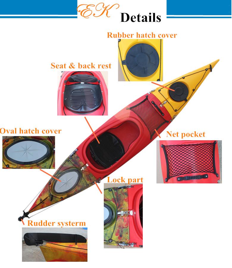 3 5m Split 3 Parts Sit In Ocean Kayak Taken By Car - Buy Sit In Kayak,Canoe  Kayak,Ocean Kayak Product on Alibaba com