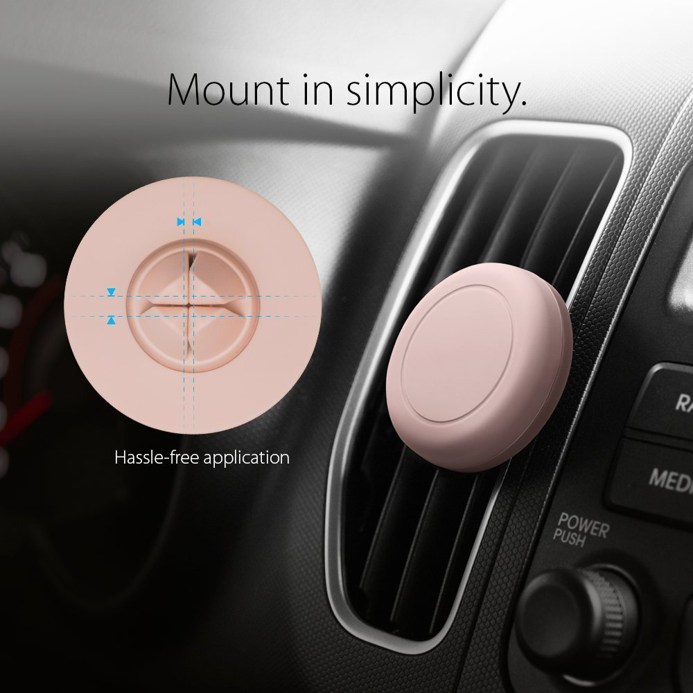 Universal air vent clip magnetic car phone holder for smartphone bracket stand