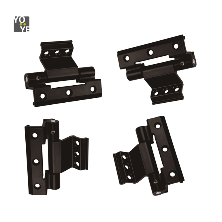 plastic shower door hinges and pallet collar screw eye hetal hinges