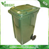 square outdoor garbage container for sale hdpe plastic trash can with lid