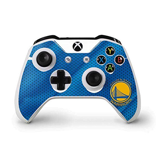 cbff7bfccc16 NBA Golden State Warriors Xbox One S Controller Skin - Golden State  Warriors Jersey Vinyl Decal