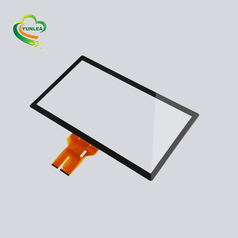 Industrial  USB I2C RS232 Interface 23.6 inch ILITEK Capacitive touch Panel Overlay Multi Touch Screen