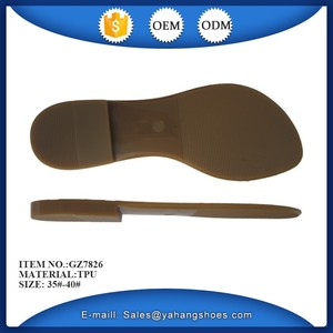 Good quality women sandal soles wholesale
