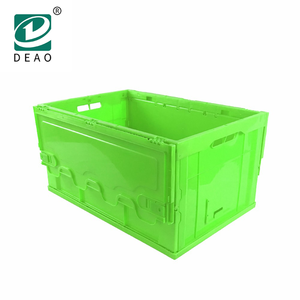Vegetables Folding Plastic Crates Packing And Sorting Fruit