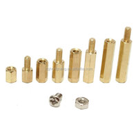 Precision Automatic Lathe PCB Brass Spacer Fasteners