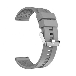 Emaker 22mm Silicone Watchband for Huawei Watch GT / Honor Watch Magic Quick Fit Rubber Replacement Bracelet Band Strap