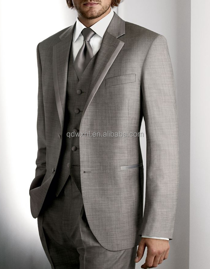 Brown Pure Wool Stripe Wedding Suits And Blazer - Buy Suits For ...
