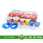 roll typed aluminum foil lids for sealing PVC,PP,PS,PET,PE yogurt cups or bottle