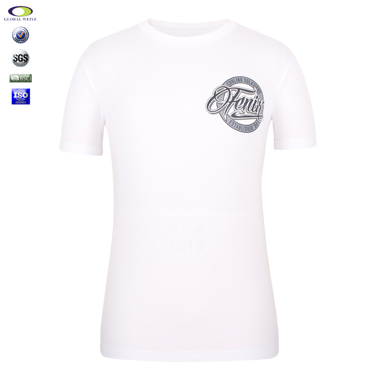 Cheap promotional wholesale customize logo printed t-shirt