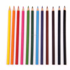 Professional 17.8cm 7 inches 12 colours quality wooden colored pencil set