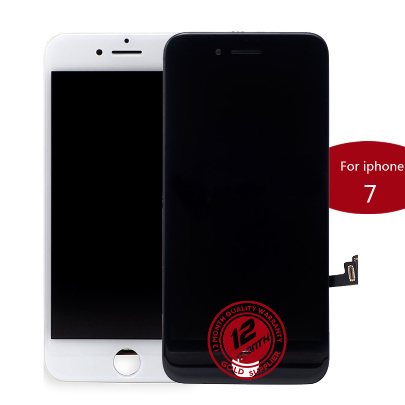Digitador testado 100% lcd da tela de toque do conjunto para o iphone 7 tela lcd