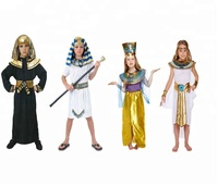 Egyptian King kids party dresses Fancy Costume Children Outfit AC6293