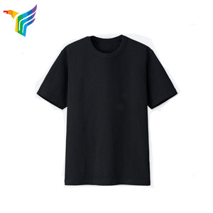 Oem & Odm Oversized T-shirts Men Black Quick Dry Customize Design Blank T-shirt Man