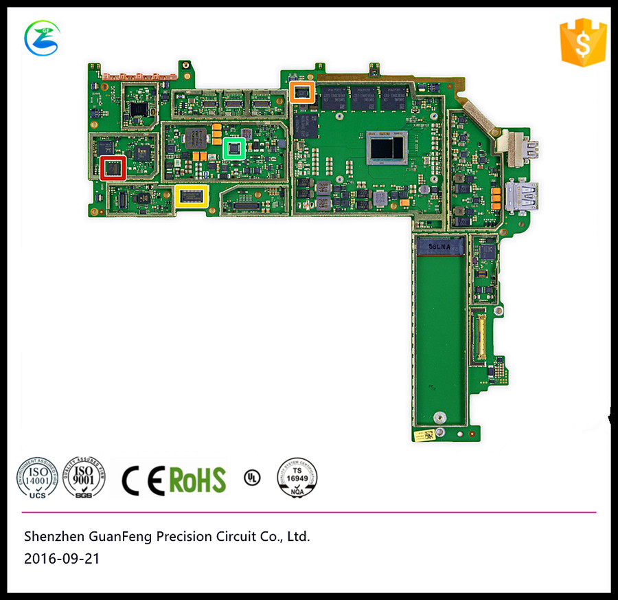 Shenzhen 94V0 <strong>android</strong> <strong>tv</strong> printed circuit board supplier