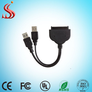 High quality USB 2.0 3.0 to SATA Hard Disk Data Cable Micro Sata 16 Pin Hdd Ssd Adapter Converter Cable