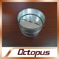 tunnel ventilation sprial round duct valve