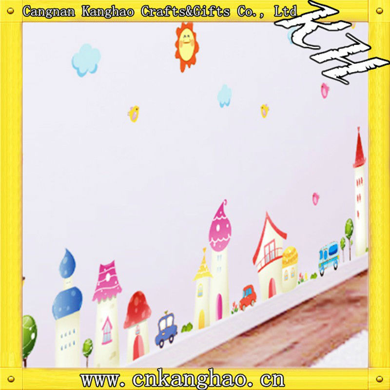 kids cute room decor 3d wall stickers