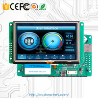 5 inch 480X272 screen touch monitor for marine equipment