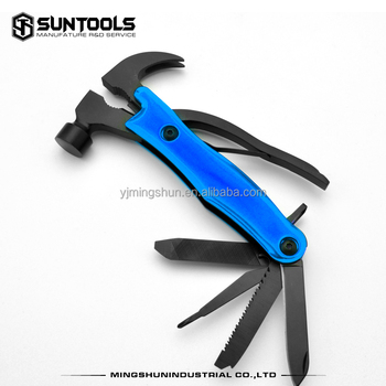 Hot-selling outdoor camping multi-function hand tools Claw hammer