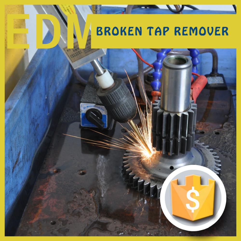800W high quality professional mini edm-8c machine as broken bolt tools burner and cnc edm holes driller