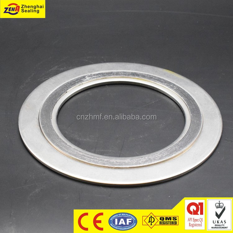 Spiral Wound Expanded Graphite Gasket