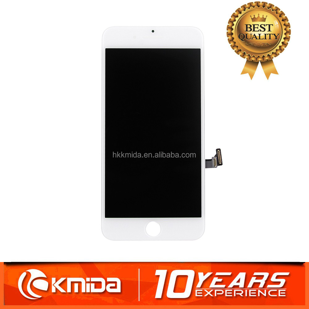 Hottest sale in alibaba for iphone 7 LCD screen black and white color for refurbish