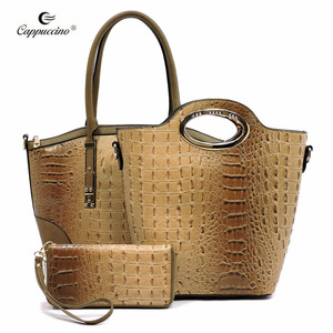 a602359fd54a 2018 China Guangzhou Fashion Croc Pattern bags handbags women