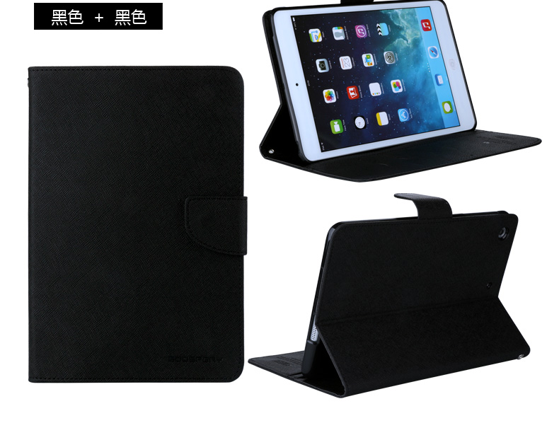 Mercury Goospery leather case for <strong>ipad</strong> case for <strong>ipad</strong> cover pro 12.9, for <strong>ipad</strong> 2/3/4 9.7 shockproof tablet case