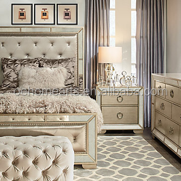 OEM hot sale wholesale royal luxury bedroom furniture