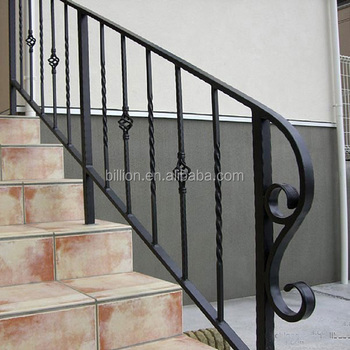 Wrought Iron Handrails For Outdoor Steps