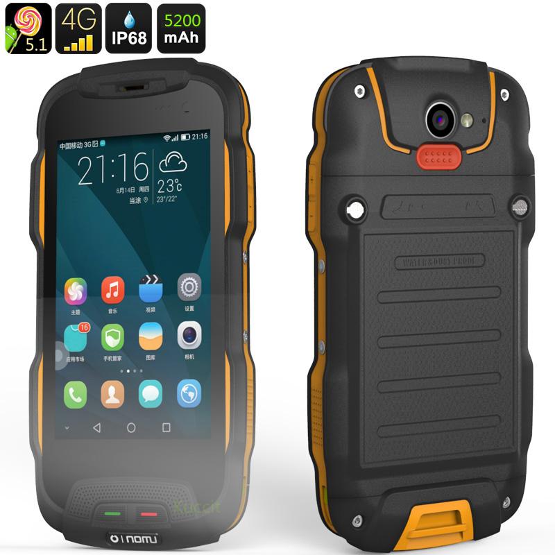 Original Oinom T9H IP68 Rugged Waterproof Phone 4G LTE