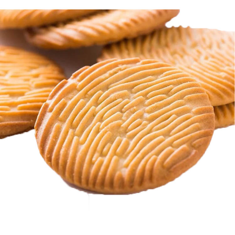 Healthy Nutritious Crispy Round Milk Biscuits For Diabetic