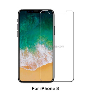 Custom Mobile phone acessories Newest Japan Asahi Tempered Glass Screen Protector for iPhone 8