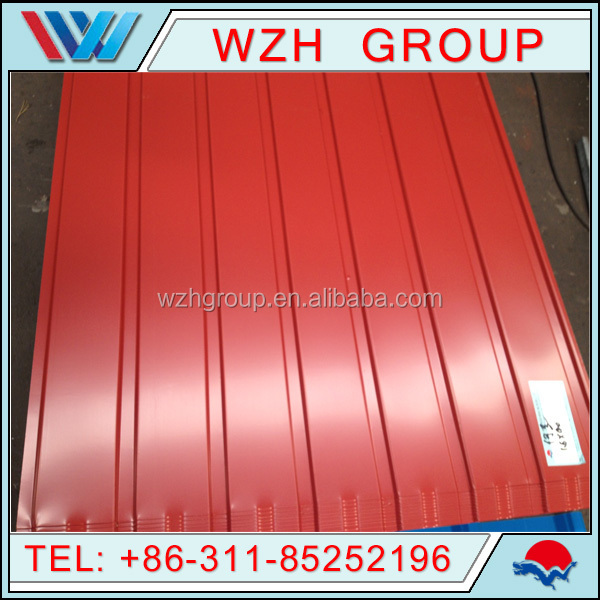 Factory Color Coated Metal Corrugated Roofing Sheet With Best Price